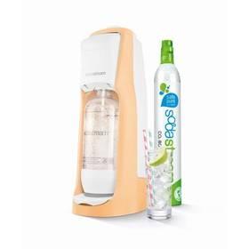 SodaStream Pastels JET PASTEL ORANGE oranžový + Láhev dětská SodaStream Příšerky + sirup v hodnotě 399 Kč