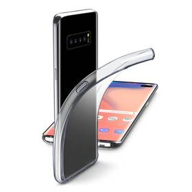 Kryt na mobil CellularLine pro Samsung Galaxy S10+ (FINECGALS10PLT) průhledný (Náhradní obal / Silně deformovaný obal 8800434297)