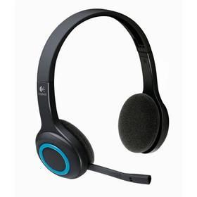 Logitech Wireless H600 (981-000342) černý + Doprava zdarma