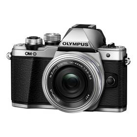 Olympus E-M10 II + objektiv 14-42mm II stříbrný + Cashback 2000 Kč + Doprava zdarma