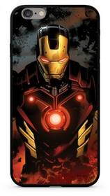 Marvel Premium Glass Iron Man pro Apple iPhone X (MPCIMAN7805) černý/červený