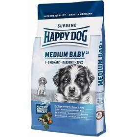 HAPPY DOG MEDIUM Baby 28 10 kg, Konzerva HAPPY DOG Rind Pur 400 g (zdarma)
