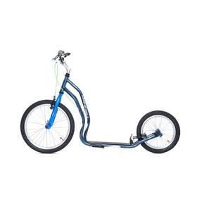 Yedoo New Mezeq New V-brake šedá/modrá + Reflexní sada 2 SportTeam (pásek, přívěsek, samolepky) - zelené v hodnotě 58 Kč + Doprava zdarma