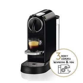 Espresso DeLonghi Nespresso Citiz EN167.B černé