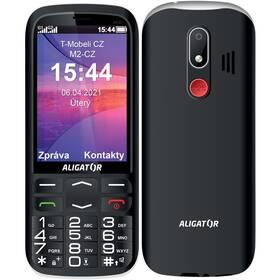 Aligator A830 Senior + stojánek (A830B) černý