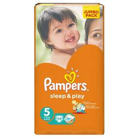 Pampers Sleep&Play 5 JUNIOR, 58ks