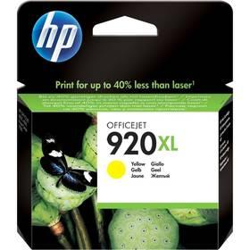 HP No. 920XL, 700 stran - originální (CD974AE) žltá