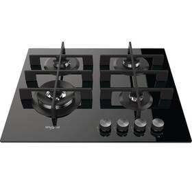 Plynová varná deska Whirlpool W Collection GOW 6423/NB EE černá/sklo (poškozený obal 8800356439)