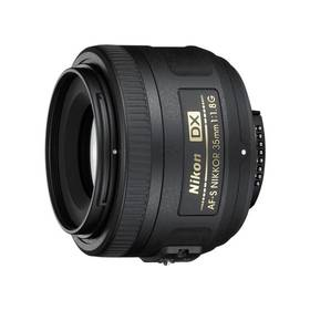 Nikon NIKKOR 35MM F1.8G AF-S DX černý + Doprava zdarma