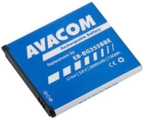 Baterie Avacom pro Samsung Core 2, Li-Ion 3,8V 2000mAh, (náhrada EB-BG355BBE) (GSSA-G355-S2000)