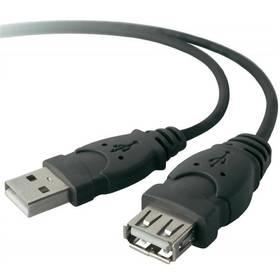 Kabel Belkin USB, 3m, prodlužovací (F3U134b10) černý