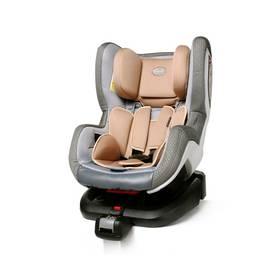 Autosedačka 4Baby NEO-fix 2015, 0-18 kg Beige sivá/béžová
