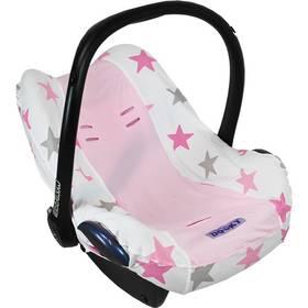 Poťah na autosedačku Dooky Seat Cover 0+ Pink Stars