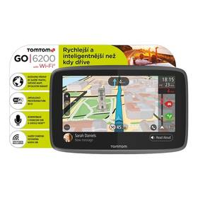 Tomtom GO 6200 World, Wi-Fi, LIFETIME mapy (1PL6.002.01) černá + Doprava zdarma