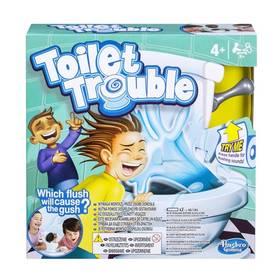 Hasbro Toilet Trouble + Fidget Spinner Esperanza modrý v hodnotě 39 Kč + Doprava zdarma