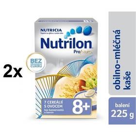 Nutrilon Profutura 7 cereálií s ovocem 8M, 225g x 2ks