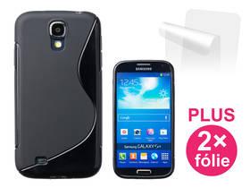 Connect IT pro Samsung Galaxy S4 (i9505) + 2ks ochranná fólie (CI-356) černý
