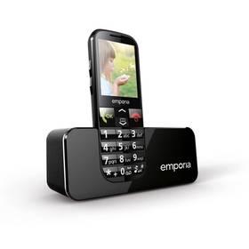 emporia ECO (TELEMECO) černý SIM s kreditem T-mobile Twist V síti 200 Kč kredit (zdarma)