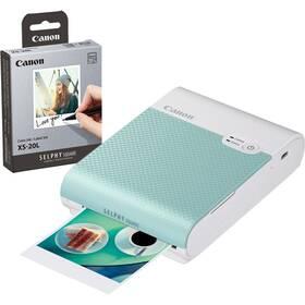 Canon Selphy Square QX10 + papíry 20 ks zelená