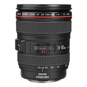 Canon EF 24-105mm 1:4.0 L IS USM (0344B010AA) černý + Doprava zdarma