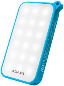 ADATA D8000L 8000mAh, outdoor LED svítilna (AD8000L-5V-CBL) modrá + Doprava zdarma