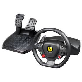 Thrustmaster Ferrari 458 Italia + pedály pro PC, Xbox 360 (4460094) černý/červený