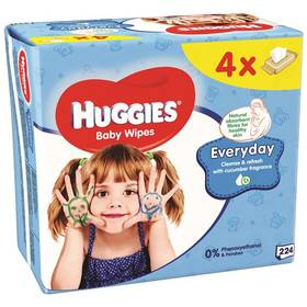 Huggies QUATRO Pack Every 4x56ks