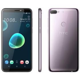 HTC Desire 12+ Dual SIM (99HAPF009-00) stříbrný/fialový + Doprava zdarma