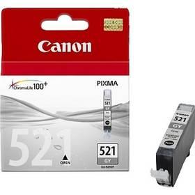 Canon CLI-521GY, 1370 stran - originální (2937B001) šedá