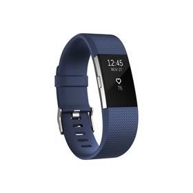Fitbit Charge 2 large - Blue Silver (FB407SBUL-EU) + Doprava zdarma