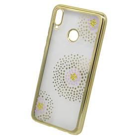 Beeyo Flower Dots pro Huawei Nova 3 (BEAHUNO3FDGO) zlatý