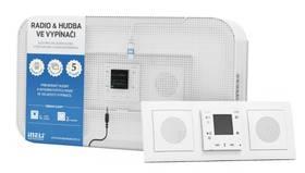 iNELS rádio & hudba ve vypínači (5160 standard) + Doprava zdarma
