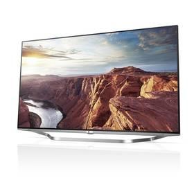 Televize LG 55UB950V stříbrná