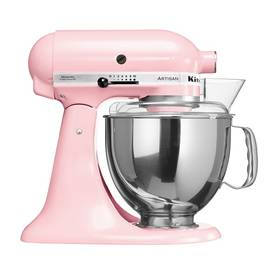 KitchenAid Artisan 5KSM150PSEPK růžový Příslušenství k robotu KitchenAid 5KFE5T plochý šlehač se stěrkou (zdarma)Příslušenství k robotu KitchenAid KB3SS nerezová mísa (3l) (zdarma) + Doprava zdarma