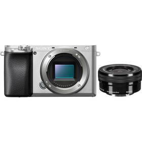 Sony Alpha 6100 + 16-50 stříbrný