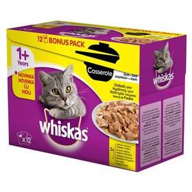 Whiskas Casserole drůbeží výběr v želé 12pack 12 x 85g