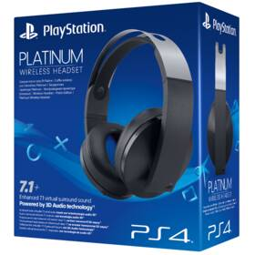 Sony Platinum Wireless pro PS4 s 3D audio (PS719812753) černý