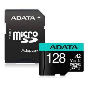 ADATA Premier Pro MicroSDXC 128GB (100R/80W) + adaptér (AUSDX128GUI3V30SA2-RA1)