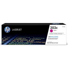 HP 203X, 2500 stran (CF543X) červený