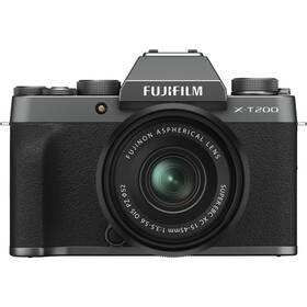 Fujifilm X-T200 + XC15-45 černý/šedý