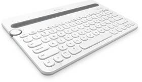 Logitech Bluetooth Keyboard K480 (920-006367) bílá + Doprava zdarma