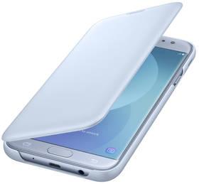 Samsung Wallet Cover pro J7 (2017) (EF-WJ730CLEGWW) modré