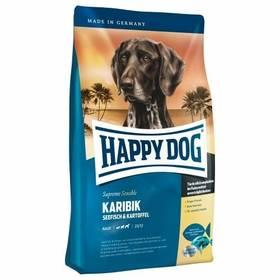HAPPY DOG KARIBIK Grainfree 12,5 kg Konzerva HAPPY DOG Rind Pur - 100% hovězí maso 200 g (zdarma) + Doprava zdarma