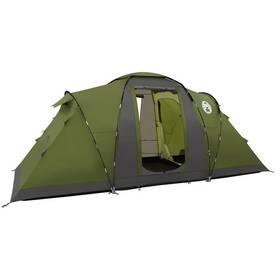 Coleman Bering 4 šedý/zelený + Vařič Campingaz Bleuet Micro plus + kartuše CV 270 v hodnotě 399 Kč jako dárek + Doprava zdarma
