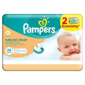 Pampers Natural Clean 128ks