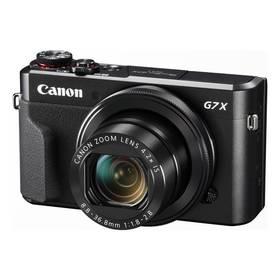 Canon PowerShot PowerShot G7X Mark II (1066C002) černý + K nákupu poukaz v hodnotě 1 000 Kč na další nákup + Doprava zdarma