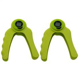 LIFEFIT s digitálním počítadlem ABS COUNTER, pár zelené