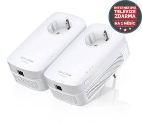 TP-Link TL-PA8010P Starter Kit + IP TV na 1 měsíc ZDARMA (TL-PA8010PKIT)