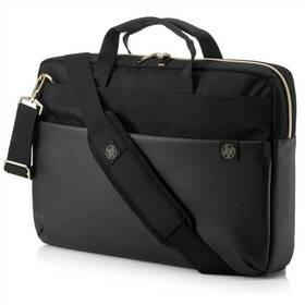 "HP Pavilion Accent Briefcase pro 15"" (4QF94AA#ABB) čierna/zlatá"