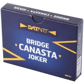 Hrací karty WIKI Canasta s logem Datart (vrácené zboží 8800799518)